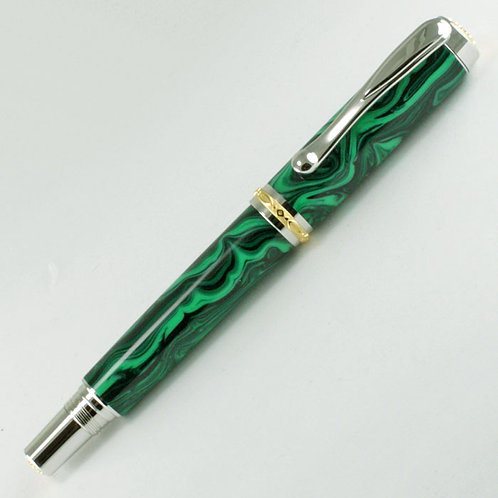 Malachite Rollerball Pen