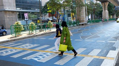 Silom Streetscape