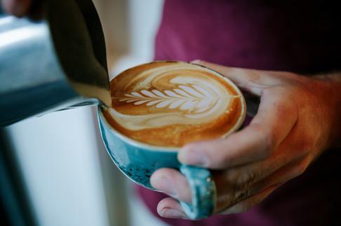 STOCK - latte art