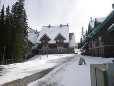 Staff Housing Building - Winter
