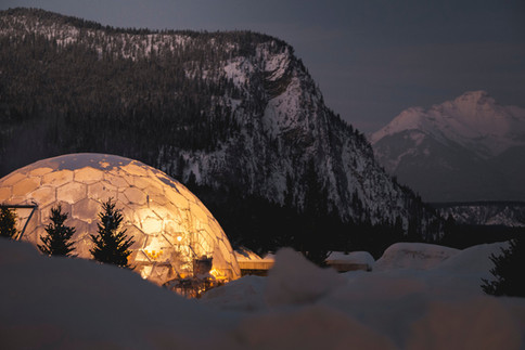 Fairmont Banff Springs - 360 Dome for Dining