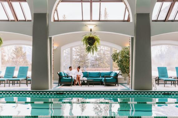 Fairmont Banff Springs - Indoor Pool