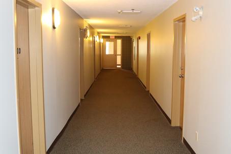 Staff Housing Building - Hallway