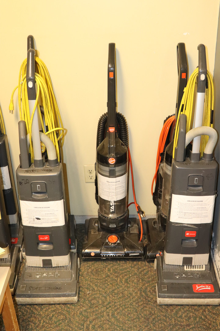 Staff Housing - Vaccuums
