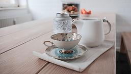 Ankommen und Tee trinken