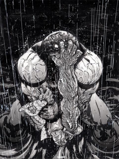 Colossus Vs Juggernaut Commission