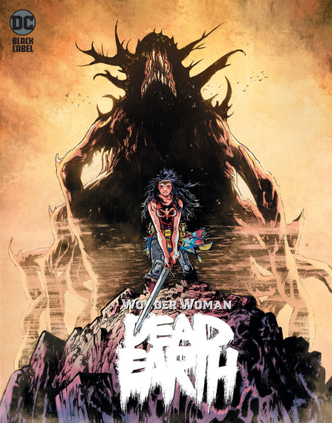 WONDER WOMAN: DEAD EARTH cover