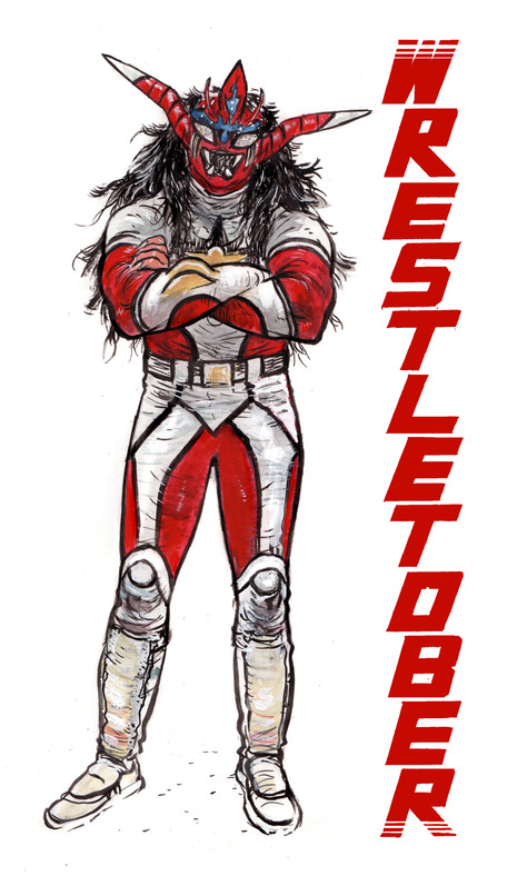 Wrestletober Cover