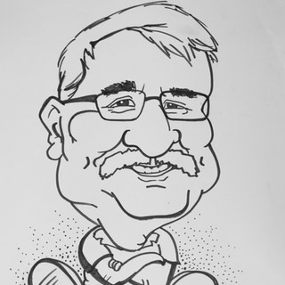Caricature for a colleague