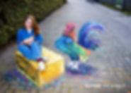 3D haan bij kinderboerderij de Canteclee