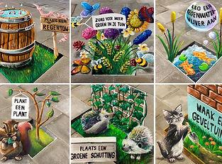CAS 2021 3D street art