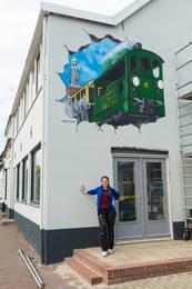 Tram Silvolde mural