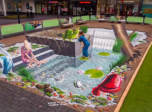 3D Streetpainting Arnhem Presikhaaf