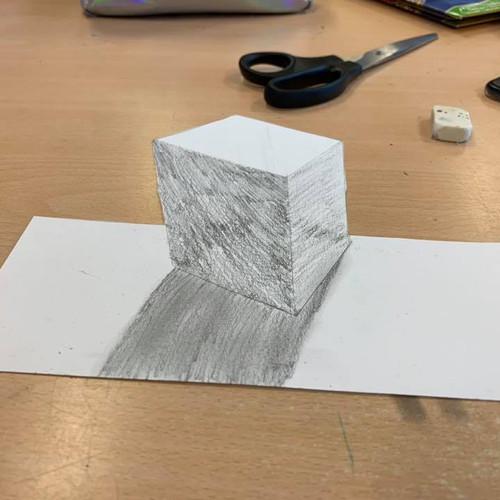 Eindresultaat van een leerling