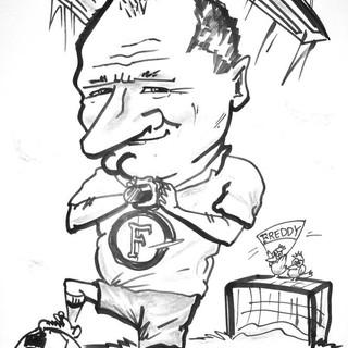 Feyenoord caricature