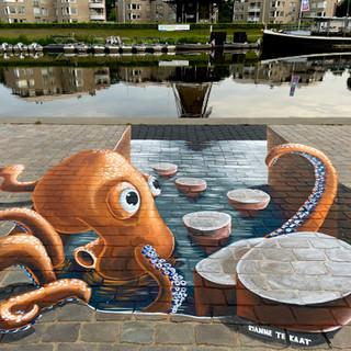 Octopus @ Ommen 5x3 meter