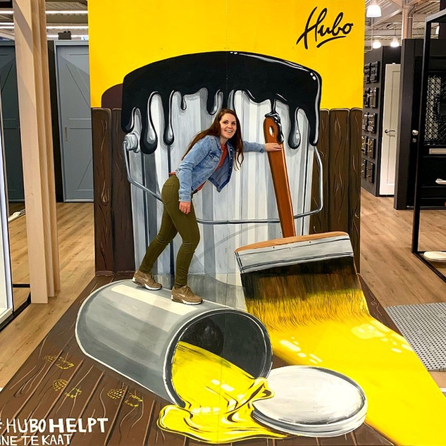 opening of a new Hubo store