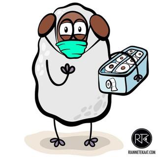Ekkie in quarantine