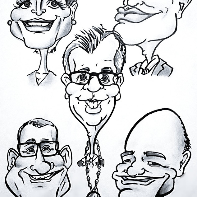 Caricature for the mayor