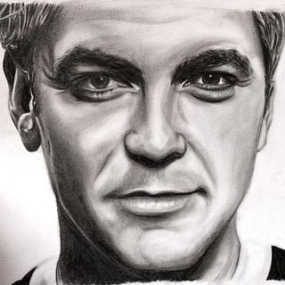 Portrait George Clooney