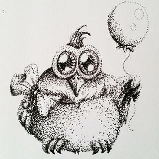 Dottspen illustration