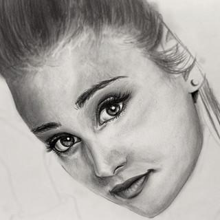 Portrait Ariana Grande