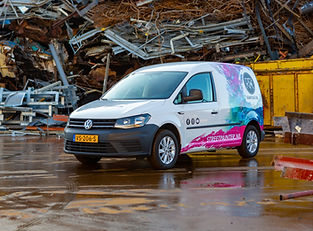 Volkswagen caddy Rianne te Kaat