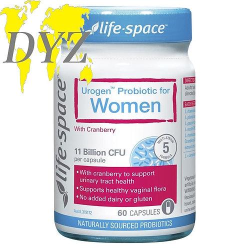 Life-Space Urogen Probiotic for Women (60 Capsules)