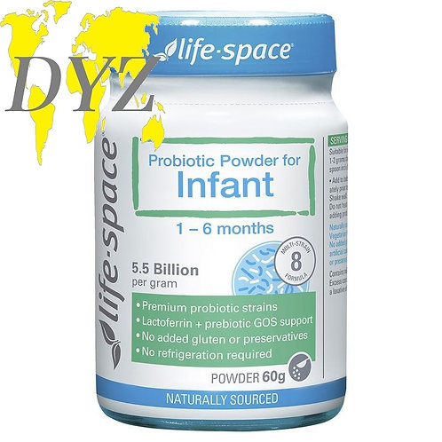 Life-Space Probiotic Powder For Infant 1-6 Months (60g)