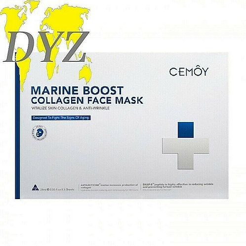 Cemoy Marine Boost Collagen Face Mask (28ml X 5 Pack)