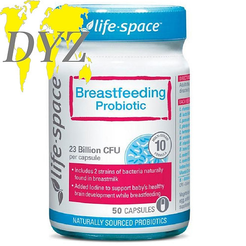 Life-Space Breastfeeding Probiotic (50 Capsules)