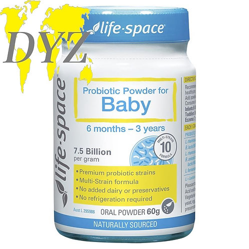 Life-Space Probiotic Powder For Baby (60g)