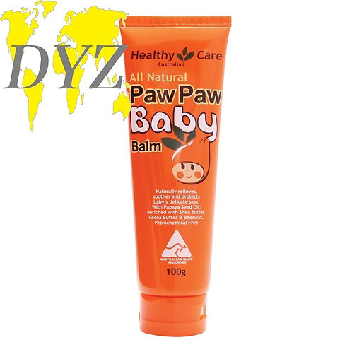 Healthy Care All Natural Paw Paw Baby Balm (100g)