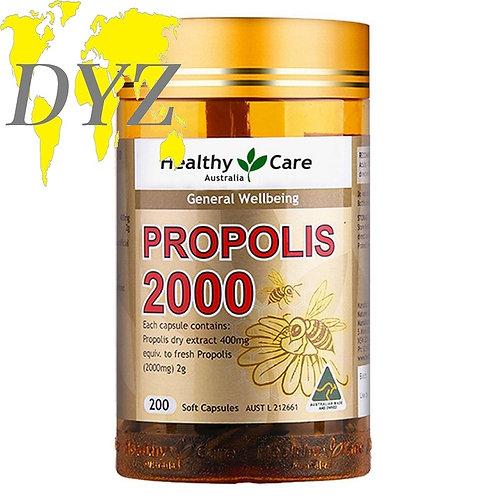 Healthy Care Propolis 2000 (200 Capsules)