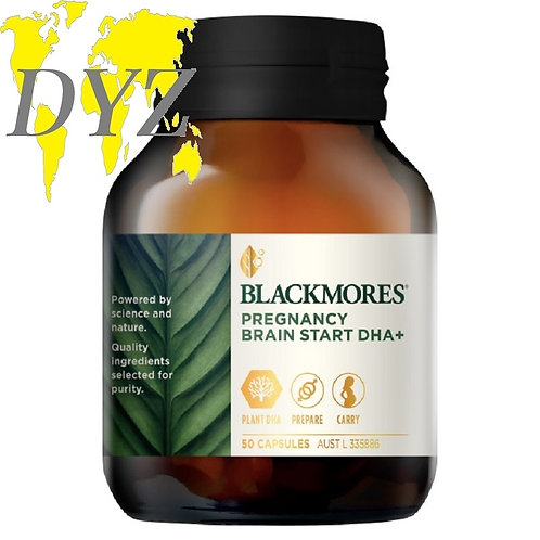 Blackmores Pregnancy Brain Start DHA+ (50 Capsules)