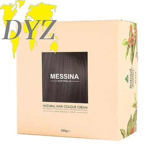 Messina Natural Hair Colour Cream Black (250g)