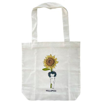 sunflower gal tote bag
