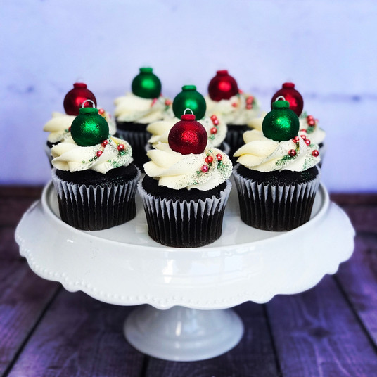 The Vanilla Rabbit Cup Cakes Christmas