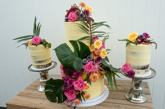 The Vanilla Rabbit Wedding Cake Casuarina Byron Tweed Gold Coast Weddings TC