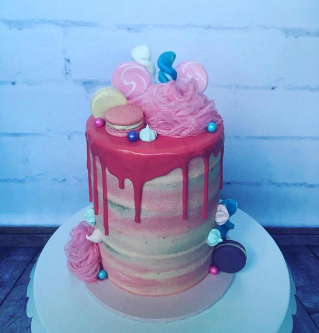 The Vanilla Rabbit Birthday Cake Fairyfloss