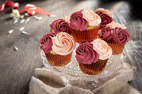 Cupcakes - Fancy Pink