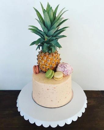 The Vanilla Rabbit Birthday Cake Pineapple