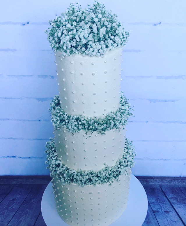 The Vanilla Rabbit Wedding Cake Casuarina Tweed Byron TCWeddings 2017