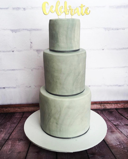 The Vanilla Rabbit Birthday Cake 3 Tier