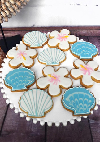 The Vanilla Rabbit Cookies Seashell