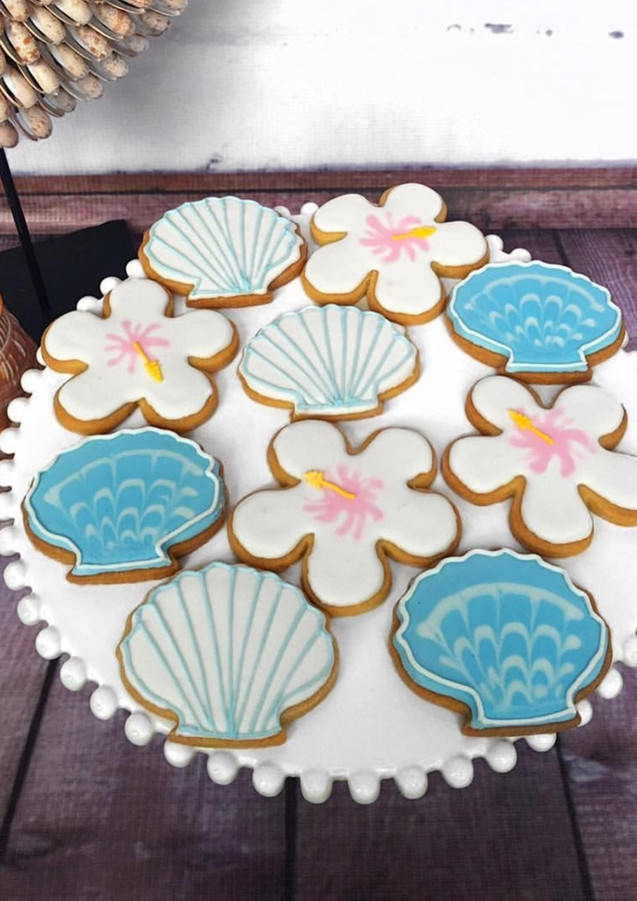 The Vanilla Rabbit Cookies Seashell