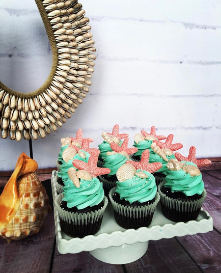 The Vanilla Rabbit Cup Cakes Mermaid Starfish