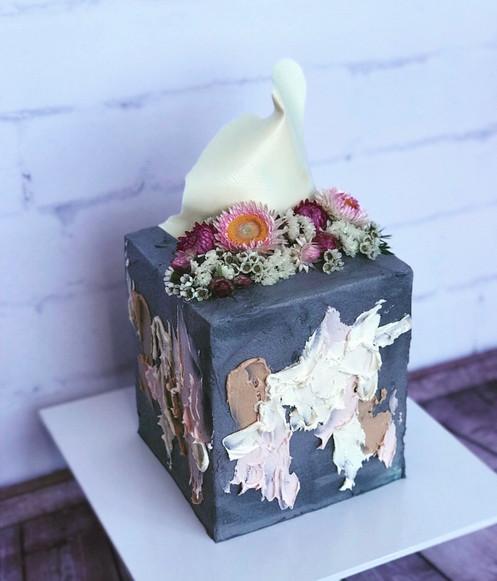 The Vanilla Rabbit Wedding Cake 2017 Contemporary