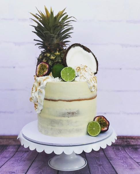The Vanilla Rabbit Birthday Cake Coconut and Lime 2017