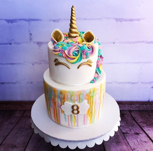 The Vanilla Rabbit Birthday Cake Unicorn